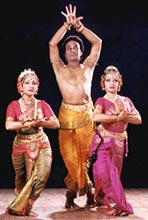 Guru Raja, Radha and Kausalya Reddy
